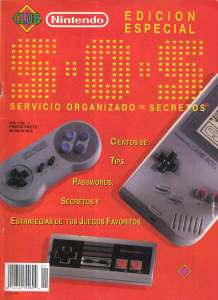 Club Nintendo - S.O.S (Edición Especial 1992)